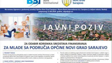 Photo of Olakšana kupovina stanova za mlade na području Općine Novi Grad Sarajevo