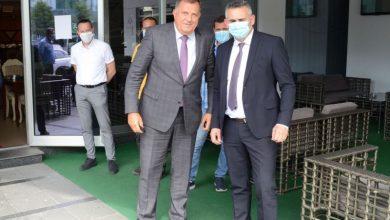 Photo of Додик се састао са Милићем у Брчком