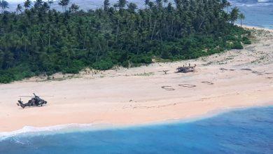 Photo of Mornari spašeni zahvaljujući SOS poruci koju su ispisali na pijesku