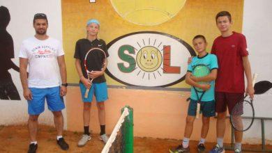 Photo of Tenis klub SOL Brčko: Filip, Matej i Andrej Đokić teniske nade Brčkog