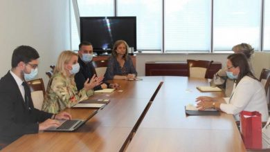 Photo of Gudeljević razgovarala s ministricama Trivić i Davidović o poboljšanju saradnje