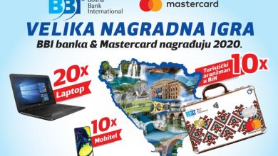 Photo of Velika nagradna igra: BBI banka & Mastercard nagrađuju 2020.