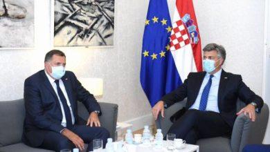Photo of Plenković s Dodikom razgovarao o snažnijoj gospodarskoj suradnji i potpori Hrvatske europskom putu BiH
