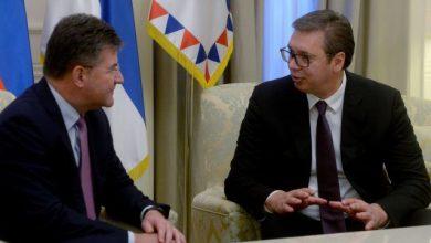 Photo of Lajčak i Vučić dogovorili nastavak dijaloga Beograda i Prištine
