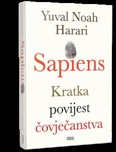 """Book Cover: """"Sapiens - kratka povijest čovječanstva"""""""